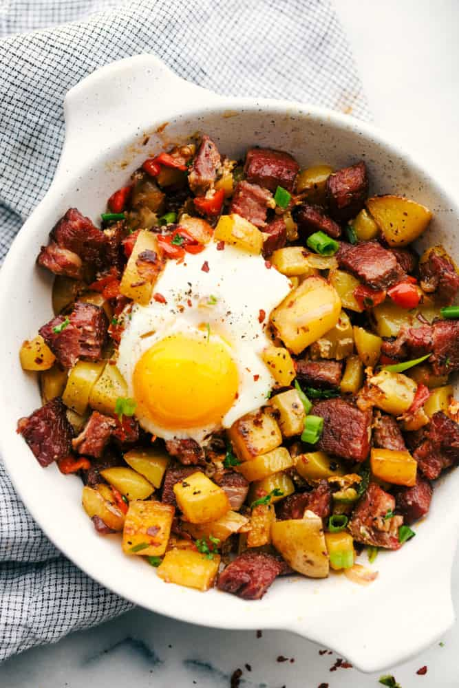 Homemade Corned Beef Hash Foody